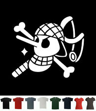 Usopp Flag T-Shirt One Piece T Sogeking Tee Pirate Sniper Straw Liar Luffy Manga