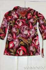 MISSONI FOR TARGET Baby Toddler Girls' Purple Floral Passione Jacket Trench Coat