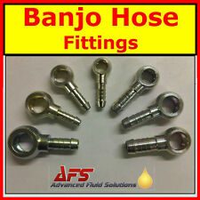 Metric BANJO x Hose Tail Fitting - Diesel Petrol Oil Tube Pipe, Fuel Filter Head