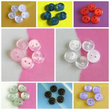 30 Micro Mini Dolly Tiny Little Small Petit Clothes Button 7mm Multi Colors S292
