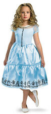"NWT Girl's Costume ""Alice"" in Wonderland Movie Dress"