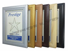 Wood Effect Photo Picture Frames Stand or Hang Various Sizes and Colours LW513