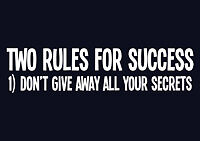 Two Rules For Success Funny New Tee T-Shirt