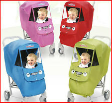 Baby Rain Cover for Maclaren,Chicco,Graco,Safety1st,Britax,Africa,Kiddy,Maclaren