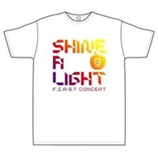 BIG BANG - Official Shine A Light Round T-Shirt (White Color) + Free Gift