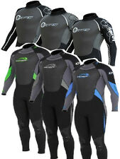 MENS 3MM OSPREY OSX FULL LENGTH WETSUIT bodyboarding kayaking sailing diving