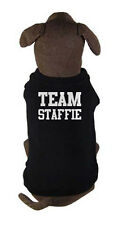 TEAM STAFFIE - dog and puppy t-shirt - Staffordshire Bull Terrier pet clothing