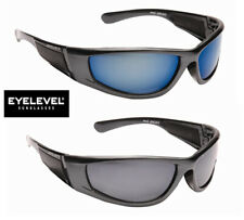 Mens Classic Wrap Around Designer Sports Leisure Black Biker Shades Sunglasses
