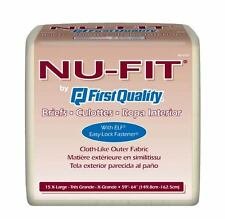NU-FIT First Quality Brief Diapers - Free Shipping!