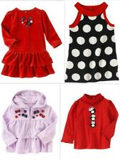 NWT sz 3T Gymboree WINTER PENGUIN Purple Hoodie Polka dot Dress Red Shirt