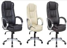 NEW LUXURY SWIVEL EXECUTIVE COMPUTER OFFICE CHAIR K8319