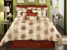 FLORAL OVERTURE 4PC COMFORTER SET **NEW** from ROSE TREE