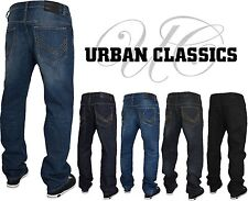 URBAN CLASSICS DENIM LOOSE FIT JEANS NEW STYLE  Basic Baggy Straight Chino Hosen