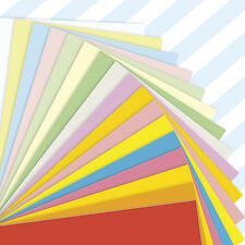 A4 Sheets Coloured Craft Card 160gsm Stock Pack