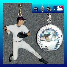 MLB NEW YORK YANKEES DEREK JETER FIGURE & PHOTO LOGO BASEBALL CEILING FAN PULLS