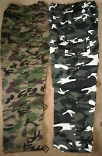 MENS 3  in  1 CAMO COMBAT CARGO ARMY ZIP OFF TROUSER NEW COOL UNIQUE  ALL SIZES