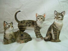 Cat Cats, Tabby 14 cm and also ginger, Black White Avaible,By Leonardo ,