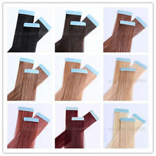 "One * Remy Tape Skin Hair Extensions,16"",18"",20"",22"",24"",26""&15 colors available"