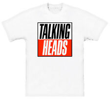 Talking Heads Retro New Wave Music T Shirt