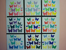 100 Martha Stewart Classic Butterfly Paper Die Cuts Punches 3 size Your Choice!