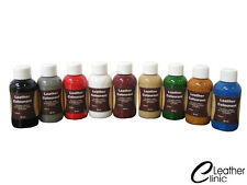 BROWN Leather Colour Coat Re-Colouring / Dye Stain Pigment Paint