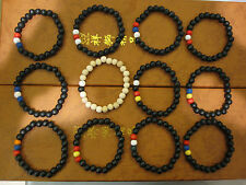 COUNTRY COLOR BEADS, GOOD WOOD BRACELET, BUY 2 GET 1 FREE, WOOD BEADS