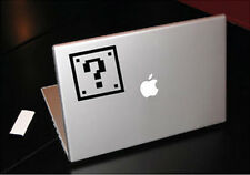 NES 8 BIT QUESTION BLOCK SUPER MARIO MACBOOK CAR TABLET VINYL DECAL