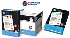 HP White A4 80gsm Inkjet/Laser Printer/Copier Quality Paper From £3.75 a Ream !