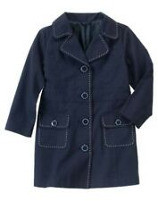 GYMBOREE UNIFORM SHOP NAVY PICKSTITCH TRENCH COAT 3 4 5 6 7 8 10 NWT