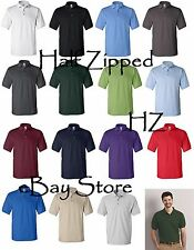Gildan Mens Ultra Cotton Ringspun Pique Polo Sport Shirt 3800 S-3XL