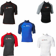 GUL RIVA MEN SHORT SLEEVE RASH VEST RASH GUARD diving jetski bodyboard sailing