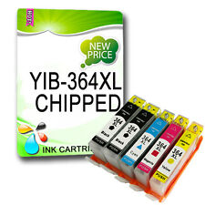5 NON-OEM 364XL Ink Cartridges Replace for Photosmart Printer