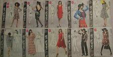 McCalls Misses Fashion Star Pattern~Dress,Scarf,Belt,Jacket,Blouse,Pants,Dresses