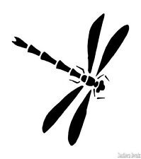 "Dragonfly Decal Sticker - 24 Colors - 3.75"" x 4.25""  [ebn00236]"