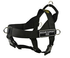 No Pull Universal Dog Harness with Patches Seizure Support Dog