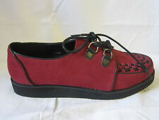 SALE LADIES SPOT ON RED SHOES (F9568)