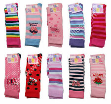 Girls Warm Thick Striped Character Long Wellie Socks Kids Welly Wellington Boots