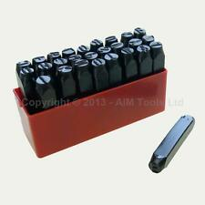 5MM 6MM 8MM 10MM 12.5MM Letter Stamps Punching Set Jewellery Watch Maker Tool