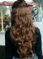 Good New Women curly/Wavy Long extentions 5 clips in hair synthetic hairpiece MM
