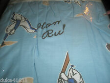 New Bedskirt The Company Store Baseball/JC Penny's Shabby Country blue floralHot