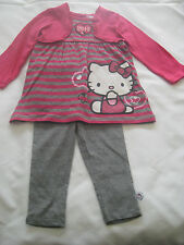 Hello Kitty  2 Piece Set-Top/Tunic/Dress & leggings