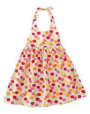 NWT Gymboree CHERRY BABY Dress Sz 6 or 9 Pretty Halter Style