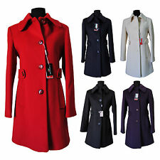"Cappotto DONNA ""Coats&Coats"" Modello BRUXELLES Varie Taglie WOOL & CACHEMIRE"