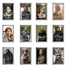 GAME OF THRONES - PLASTIC FRIDGE MAGNET - MAIN CHARACTERS - 12 DESIGNS - GIFT