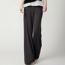 Women's High Waisted Wide Straight Leg Long Pants Culottes Loose Casual Trousers