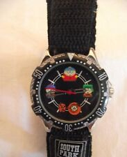 Limited Edition South Park Quartz Watch w Black Face & Characters On