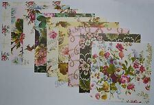 Anna Griffin 6x6 BOUQUET Designer Paper &1 Free Stampin Up Front- Flowers Multi