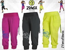 Zumba Fitness ~ Sexy FEELIN IT CARGO CAPRI Pants ~ 3 Colors ~ most sizes ~NEW
