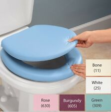 Padded Toilet Seat and Lid, Soft And Comfortable Alternative To Toilet Seats