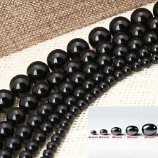 10-100pcs Black Non-Magnetic/Magnetic Hematite Round Spacer Beads 4/6/8/10/12mm